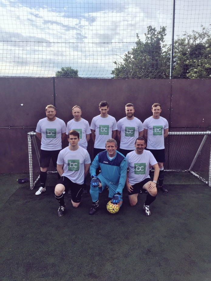 INSURANCE FIRM GOES TO TOP OF THE LEAGUE IN REGIONAL TOURNAMENT